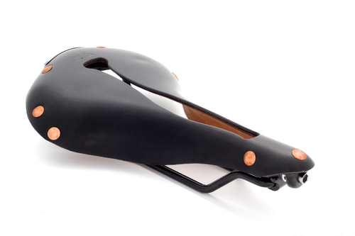 Selle Anatomica X-Series Schwarz / Kupfer - Black / Copper